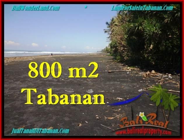 Beautiful TABANAN BALI 800 m2 LAND FOR SALE TJTB260