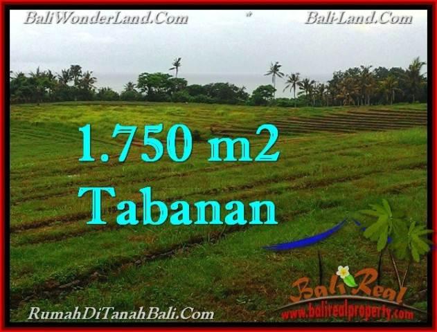 Exotic 1,750 m2 LAND FOR SALE IN TABANAN BALI TJTB262