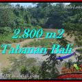 Magnificent TABANAN BALI 2,800 m2 LAND FOR SALE TJTB276
