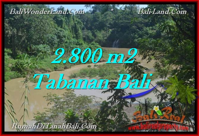 FOR SALE 2,800 m2 LAND IN TABANAN TJTB276